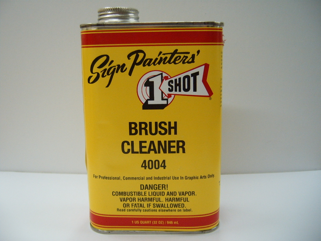 One Shot Brush Cleaner