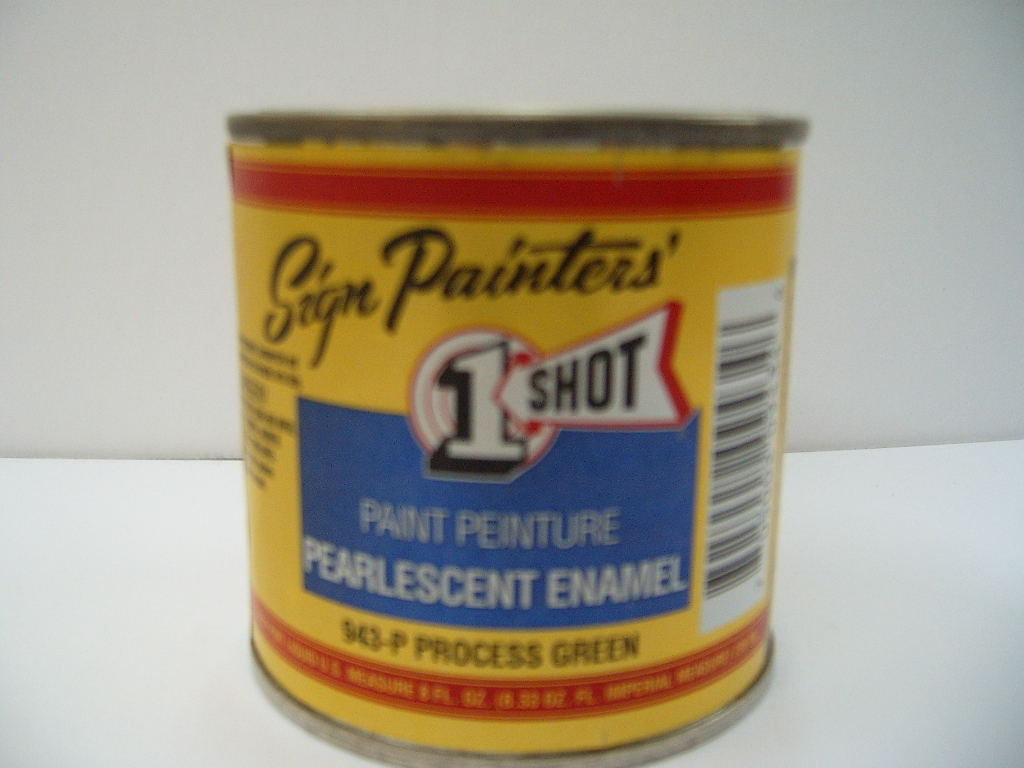 One Shot Pearlescent Enamels