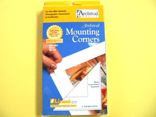 Self Adhesive Mounting Corners