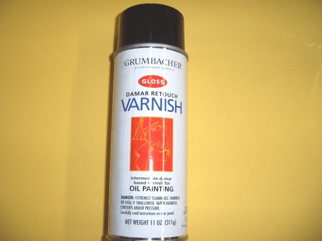 Damar Retouch Spray Varnish