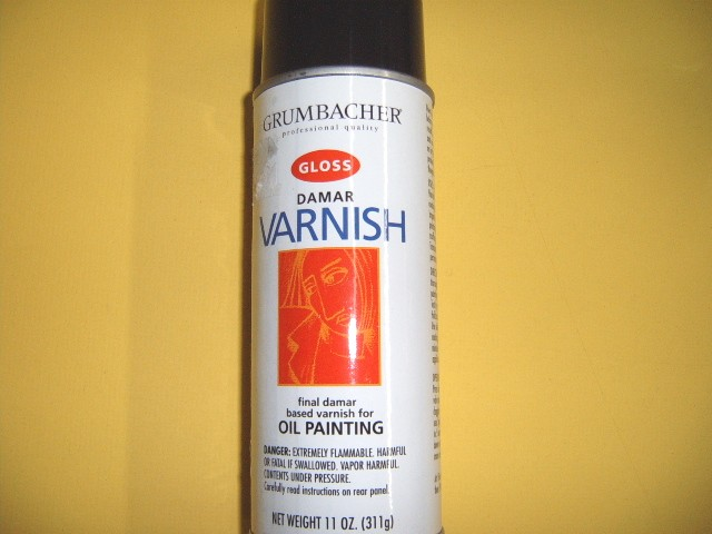 Damar Varnish Spray