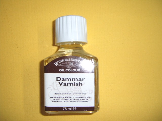 Winsor Newton Damar Varnish