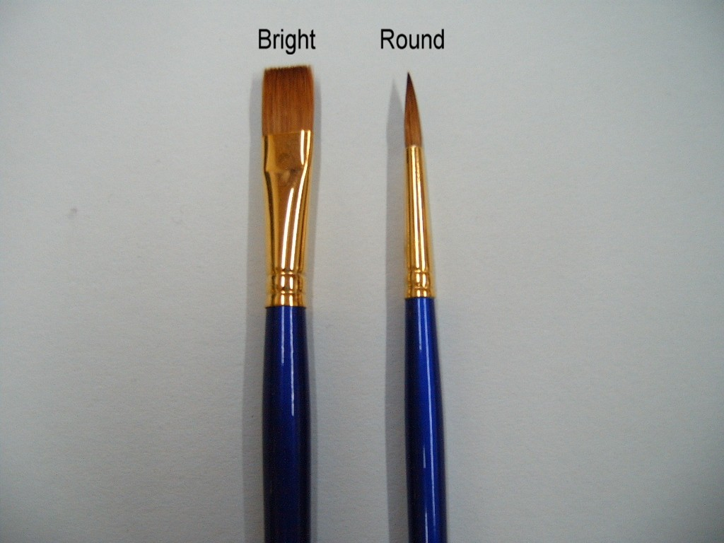 Robert Simmons Saphire Brushes Long Handle
