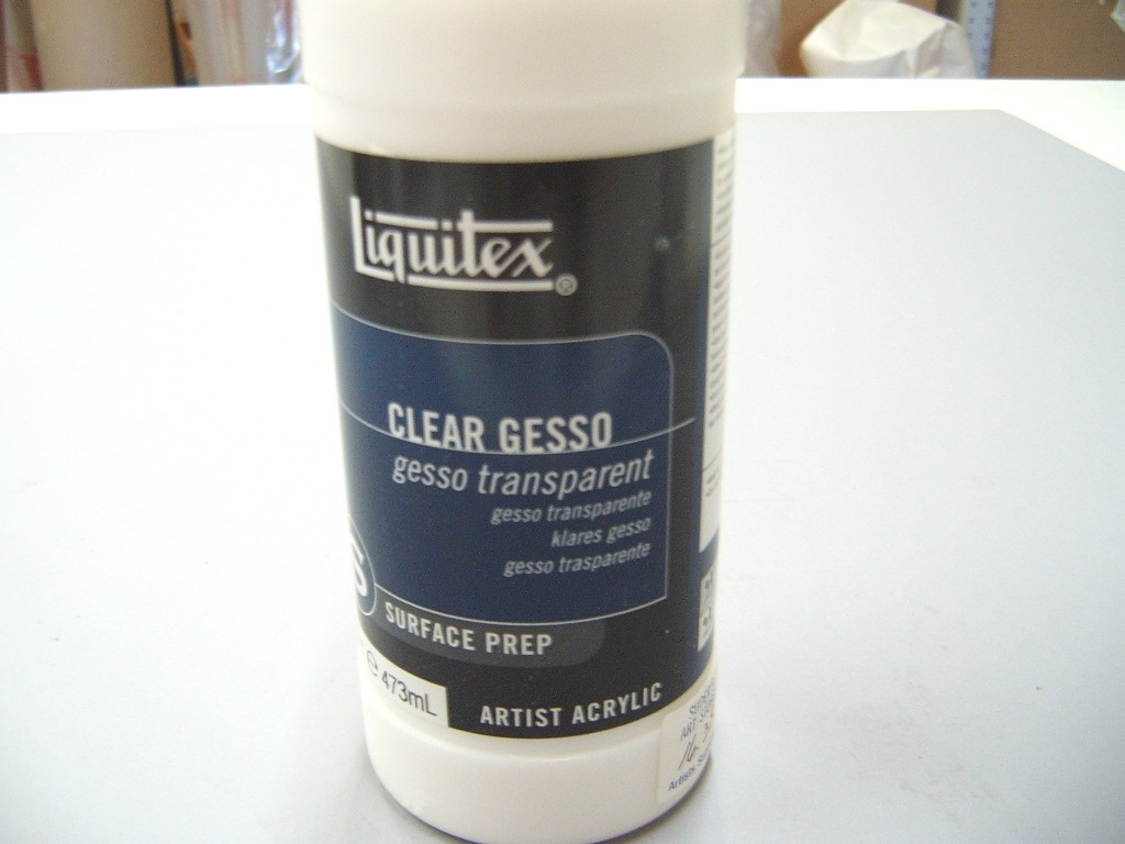 Liquitex Clear Gesso