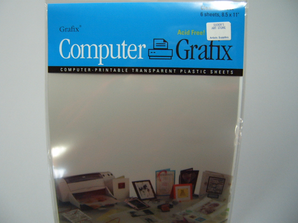 Grafix Inkjet/Laser Transparency Film