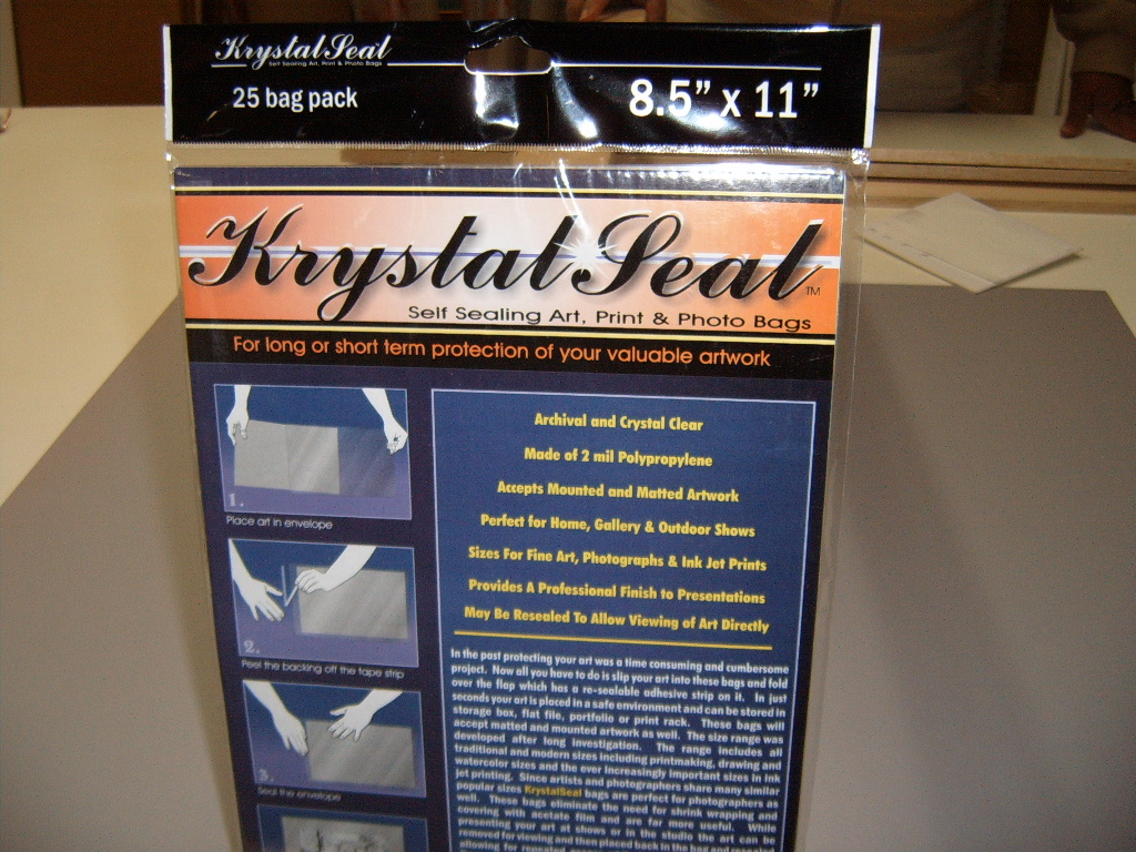Krystal Seal Envelopes
