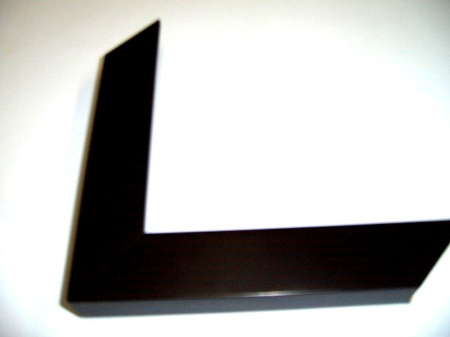 Black Frame Plain Profile