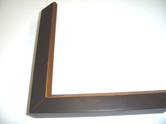 Black Frame Gold Edge