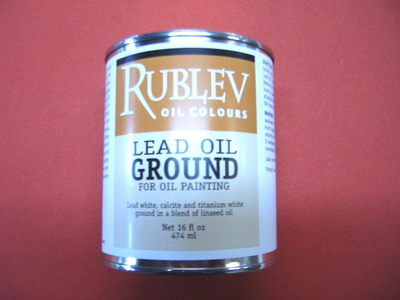 Rublev Colours Lead Oil Ground