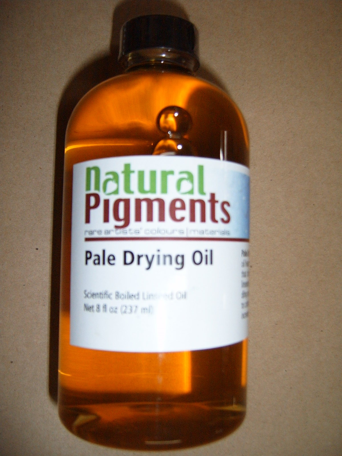 Natural Pigments Pale Drying Linseed Oil