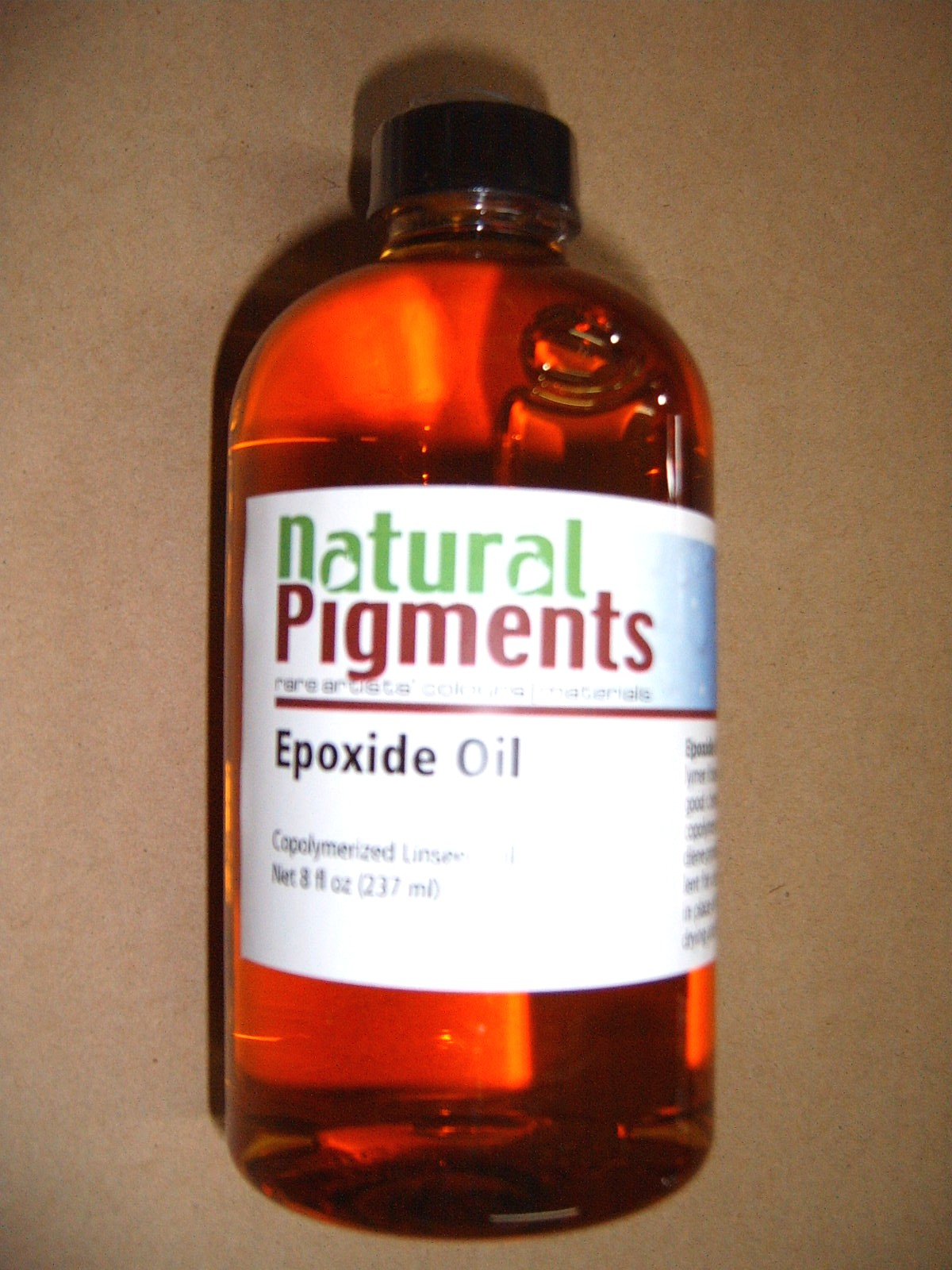 Natural Pigments Epoxide Oil