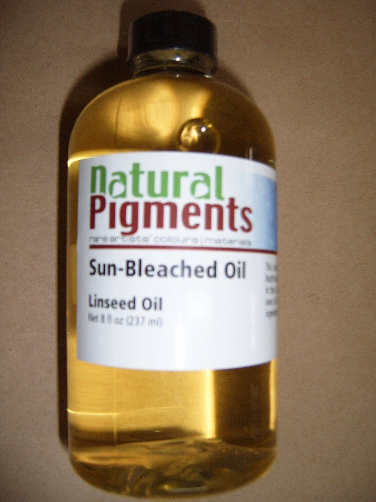 Natural Pigments Sun-Bleached Linseed Oil