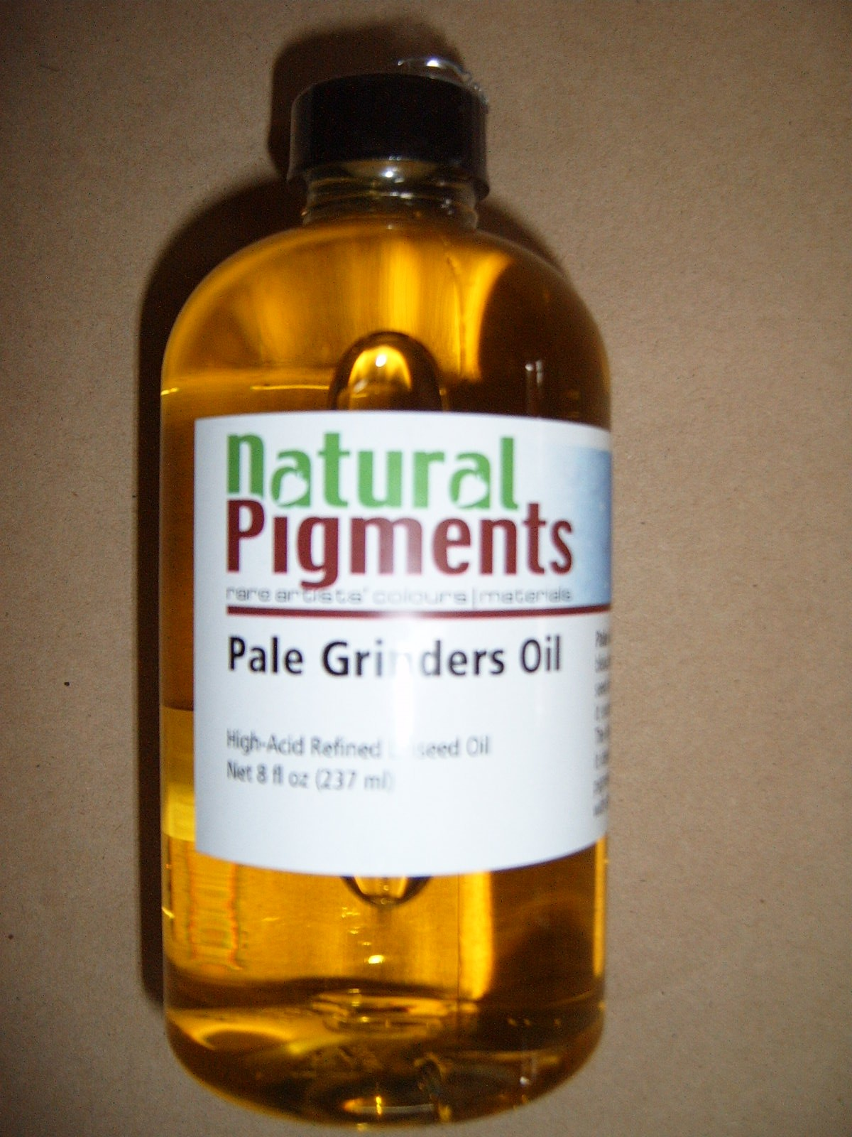 Natural Pigments Pale Grinders Linseed Oil