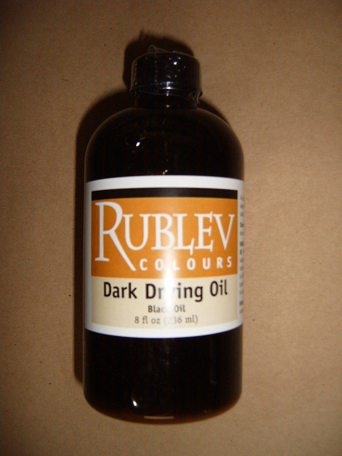 Natural Pigments Dark Drying Oil (black oil)