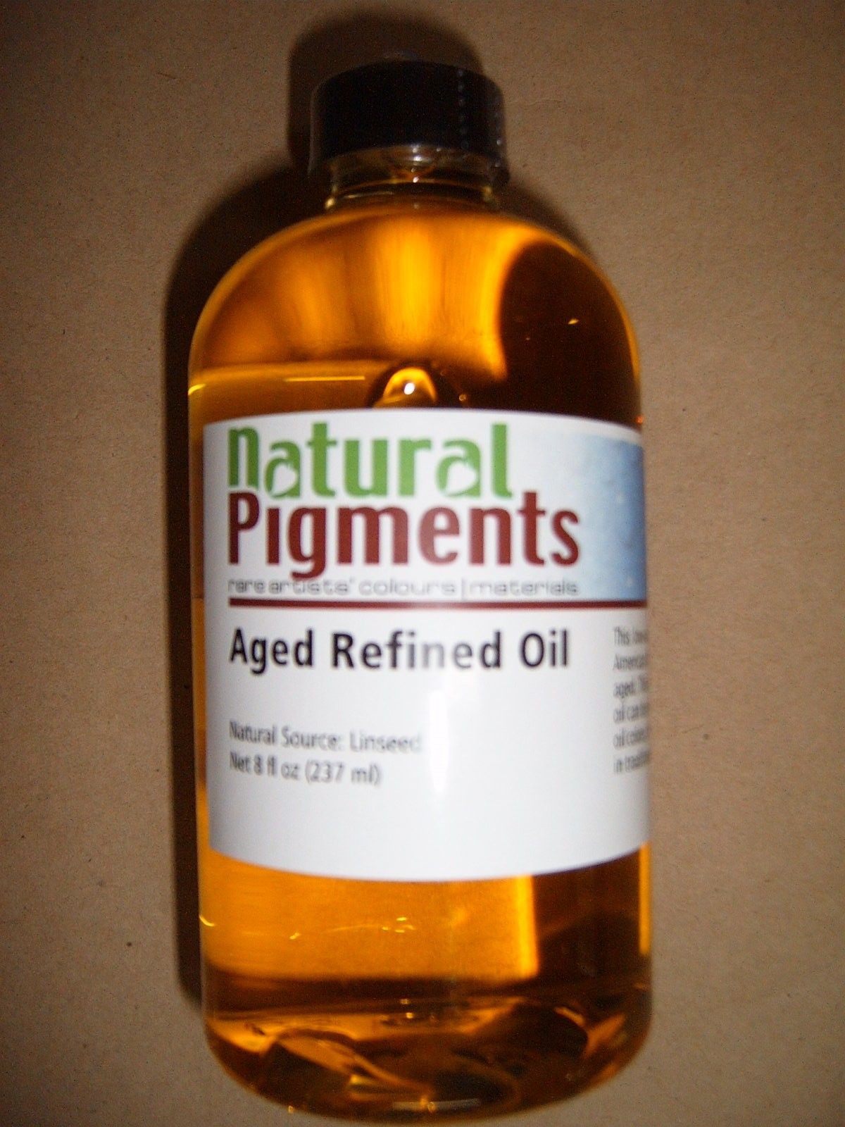 Natural Pigments Aged Refined Linseed Oil
