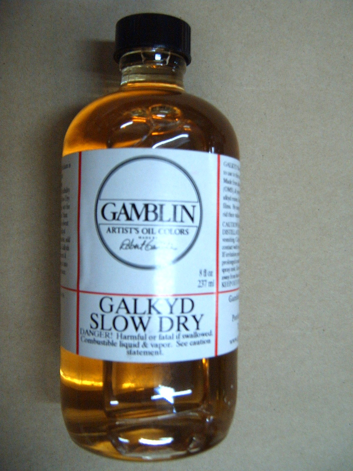 Gamblin Galkyd Slow Dry Painting Medium