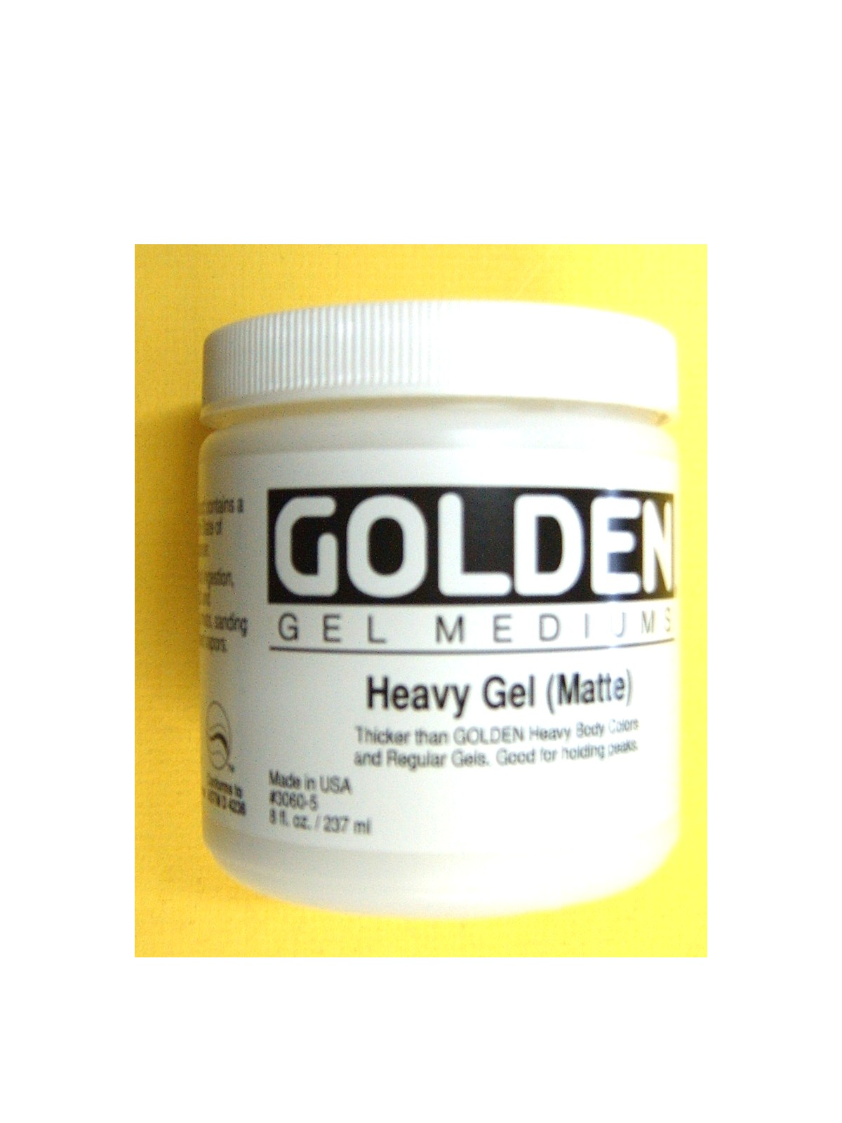Golden Heavy Acrylic Gels