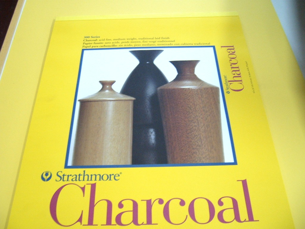 Strathmore 300 Charcoal Pad