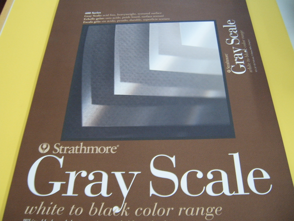 Strathmore 400 Gray Scale Pad
