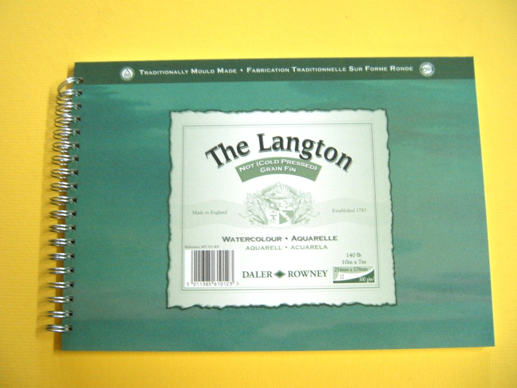 Daler Rowney Langton Watercolor Pad
