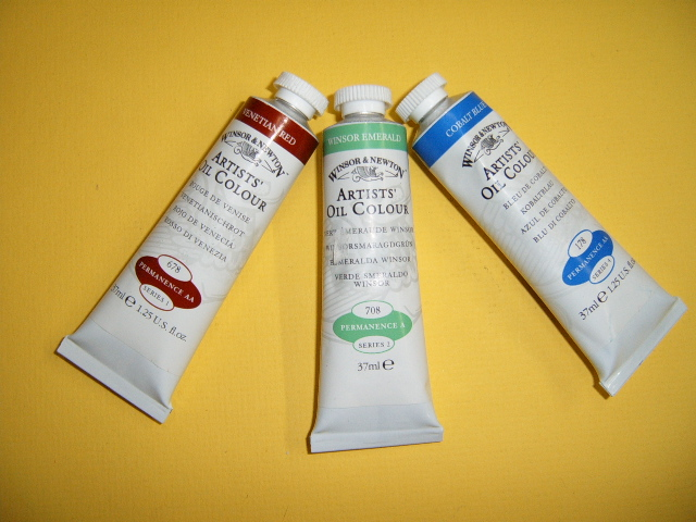 Winsor Newton Artists Oil Colours
