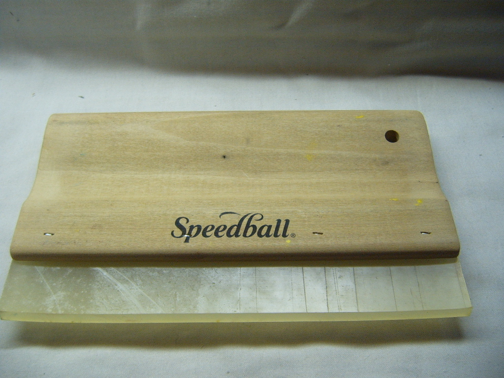 Speedball Graphic Squeege