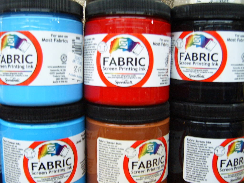 Speedball Fabric Screen Ink
