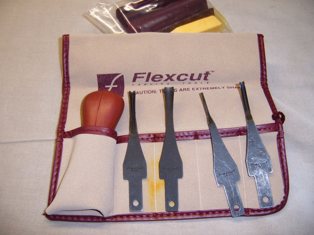 Flexcut Lino and Relief Printmaking Set