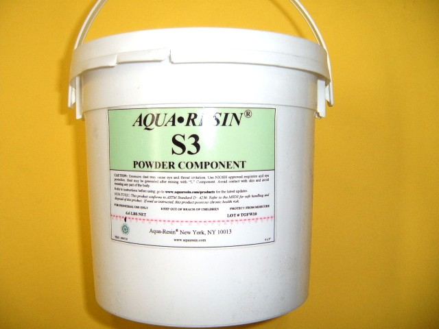 Aqua Resin Powder