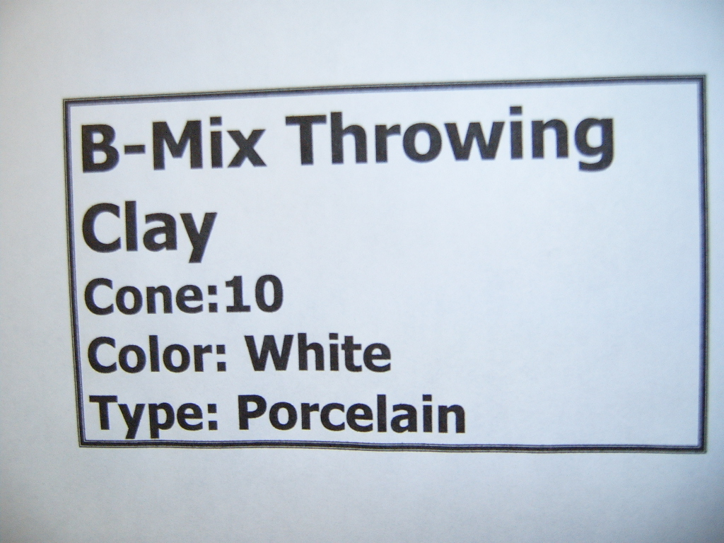 B Mix Throwing Clay