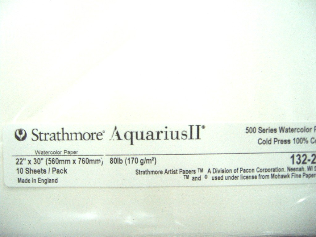 Strathmore Aquarius II Watercolor Paper